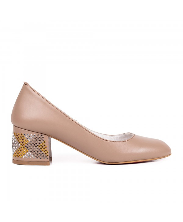 Pantofi comozi taupe 1710-S