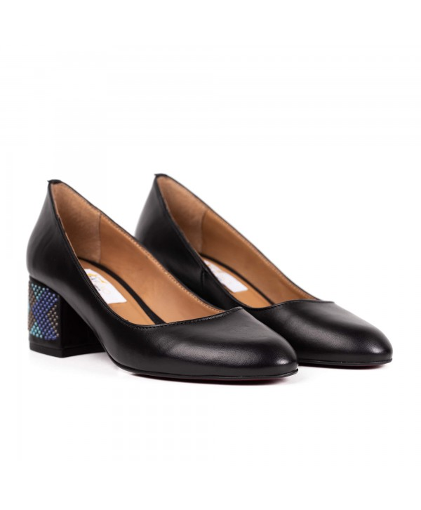 Pantofi comozi negri 1710-S