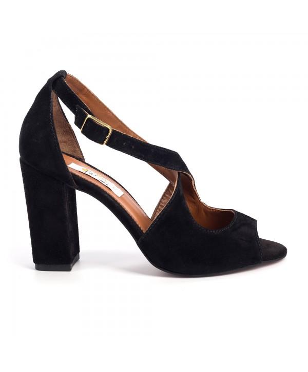 Sandale comode negre 1711