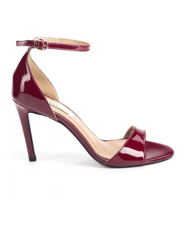 Sandale elegante bordeaux 1712