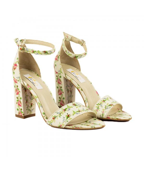 Sandale elegante floral 1713