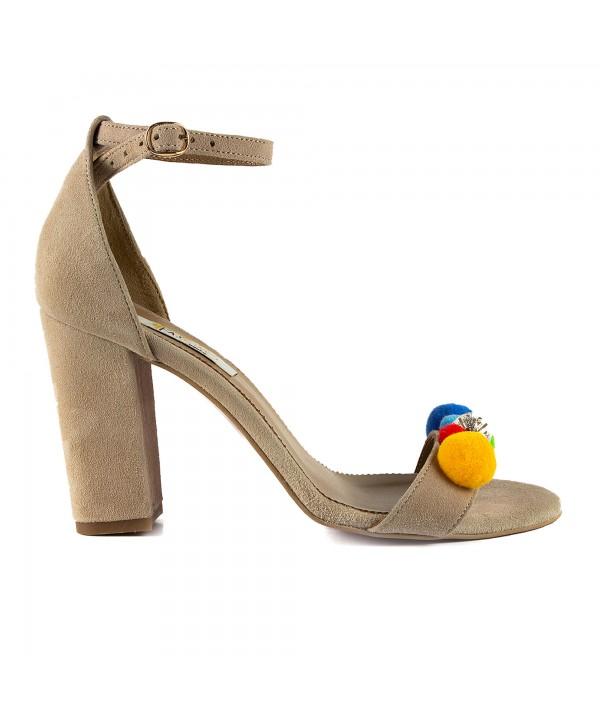 Sandale elegante maro 1713-P