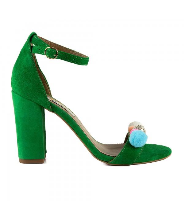 Sandale elegante verzi 1713-P