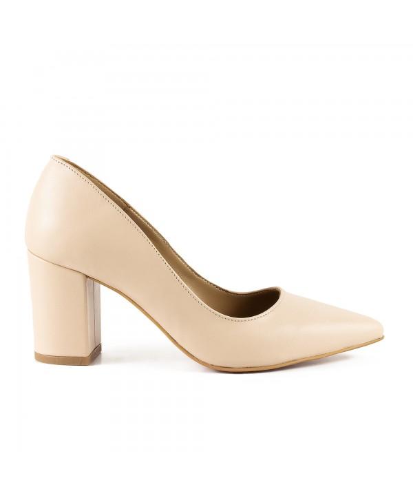 Pantofi eleganti crem 1714