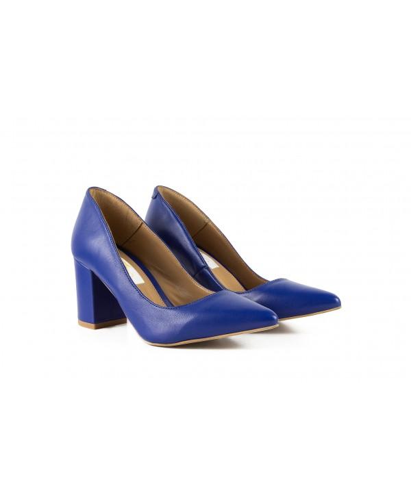 Pantofi eleganti albastri 1714
