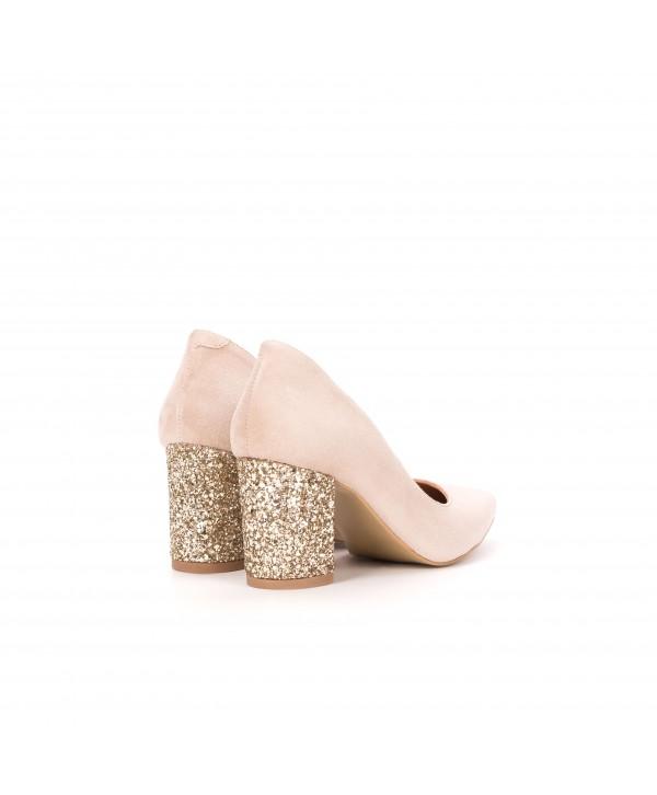 Pantofi eleganti nude 1714-G