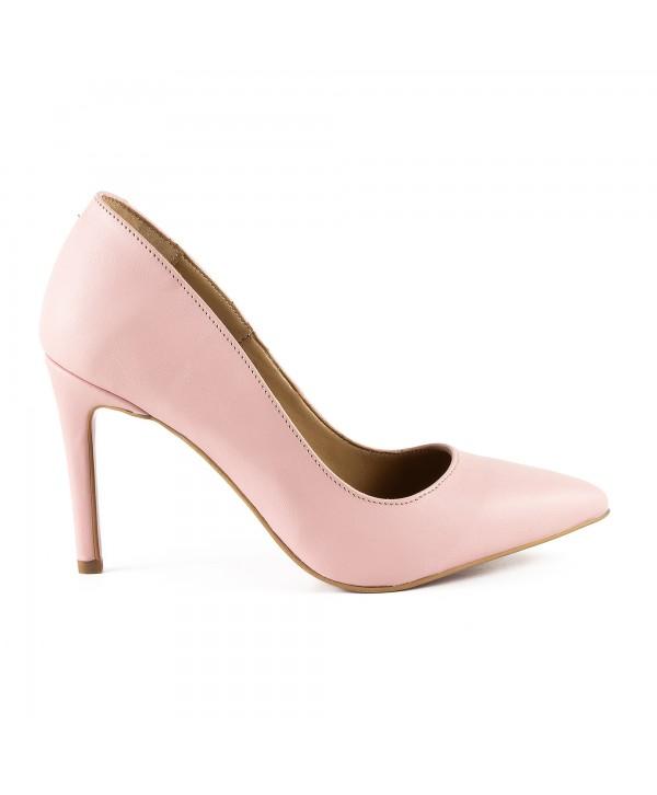 Pantofi eleganti rose 1716