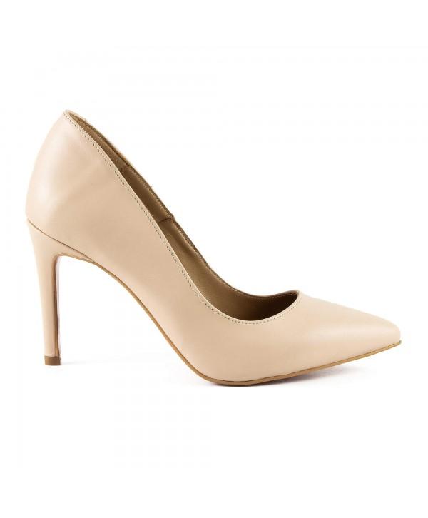 Pantofi eleganti nude 1716