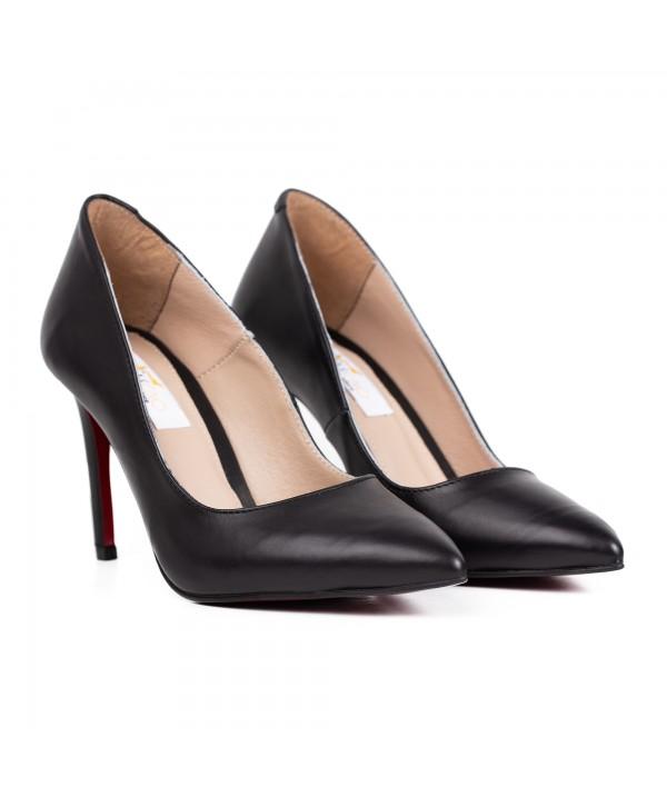 Pantofi eleganti negri 1716