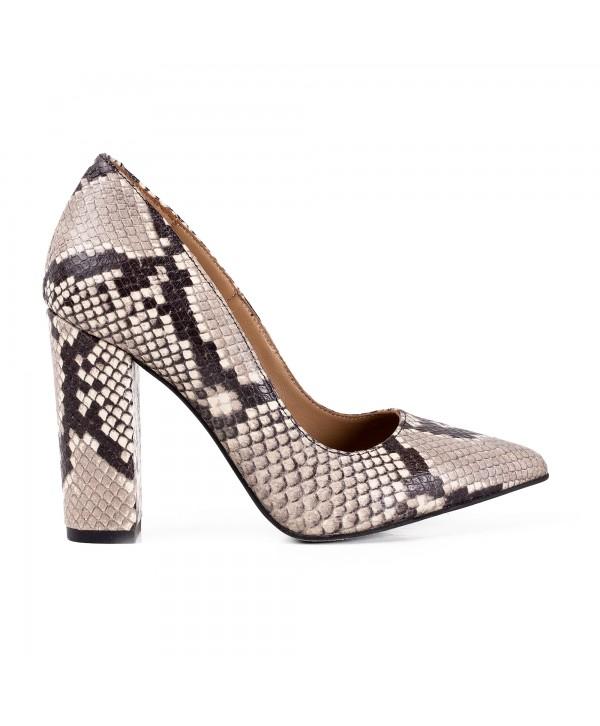 Pantofi eleganti stiletto sarpe 1719