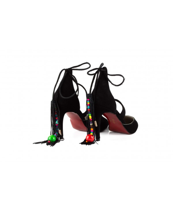 Pantofi eleganti negri 1720
