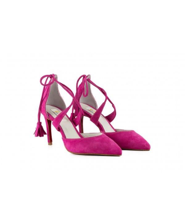 Pantofi eleganti mov 1720