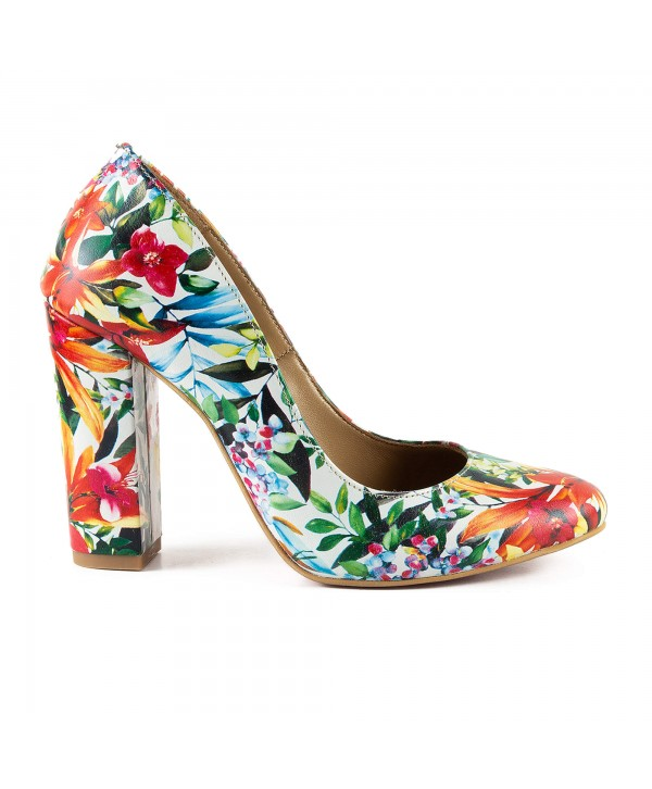 Pantofi eleganti multicolor 1722