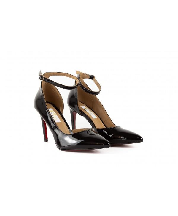 Pantofi eleganti negri 1730