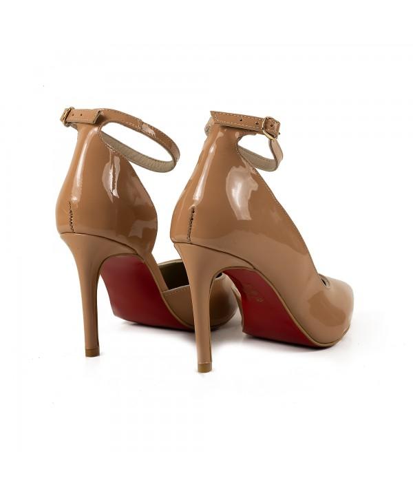 Pantofi eleganti nude 1730