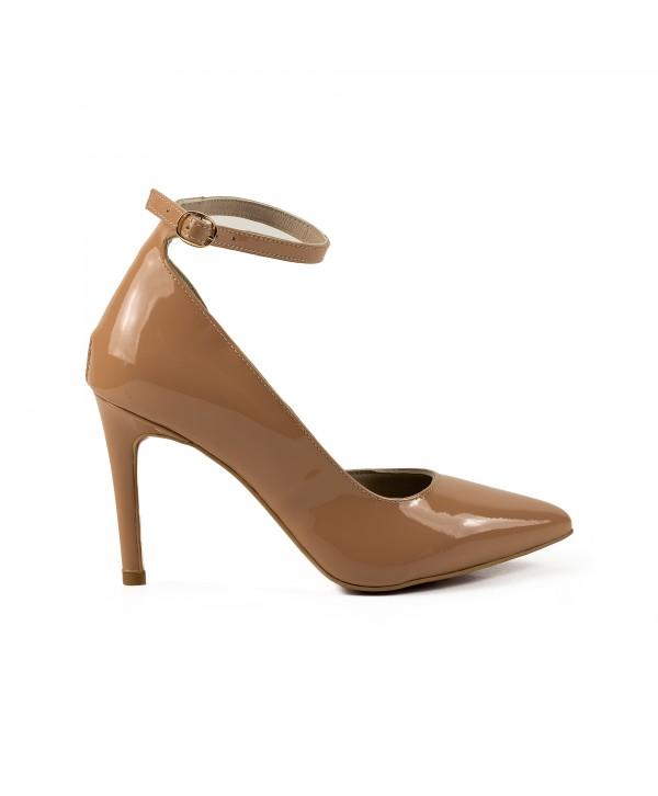 Pantofi eleganti crem 1730
