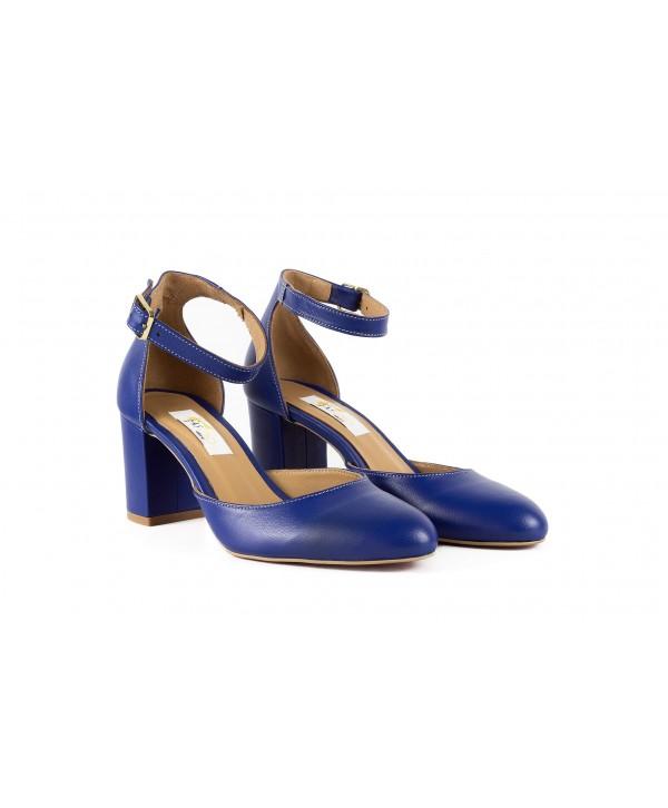 Pantofi eleganti albastri 1731