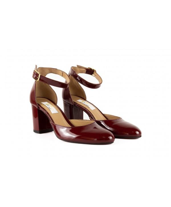 Pantofi eleganti bordo lacuit 1731