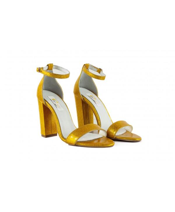 Sandale elegante aurii 1713