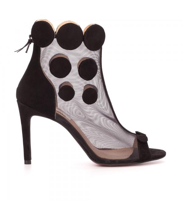 Botine-sandalute deosebite negri 1801
