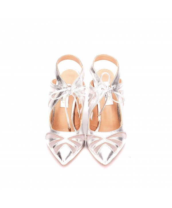 Pantofi deosebiti argintii 1802