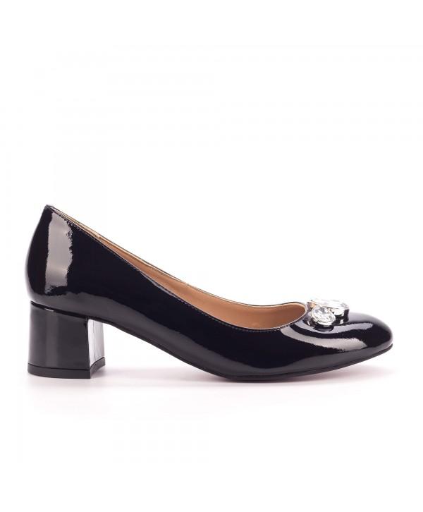 Pantofi comozi negri 1804