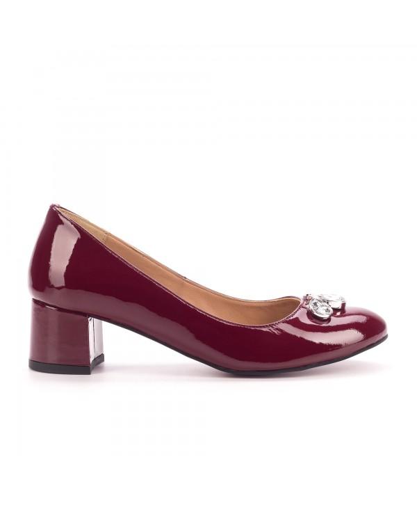 Pantofi comozi rosii 1804