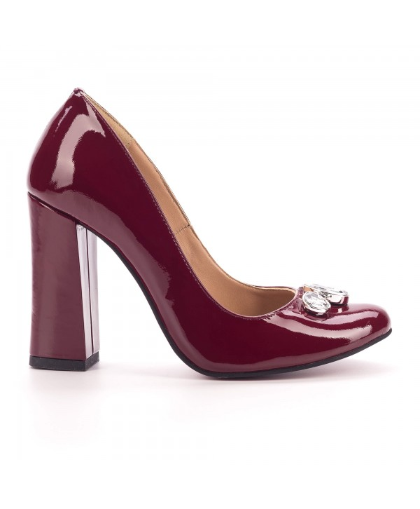 Pantofi eleganti visinii 1805