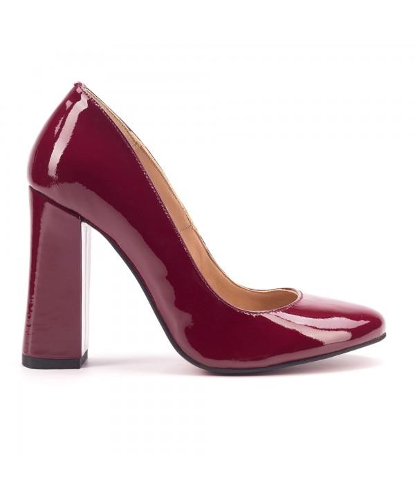 Pantofi eleganti visinii 1807