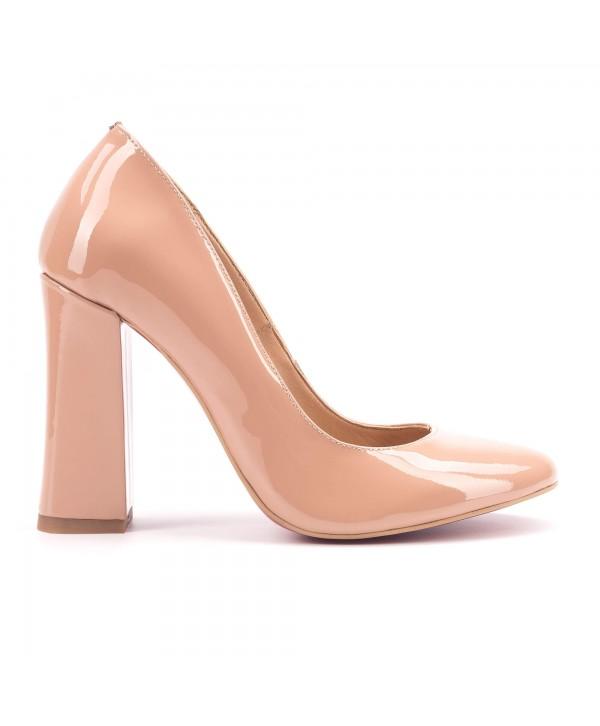 Pantofi eleganti crem 1807
