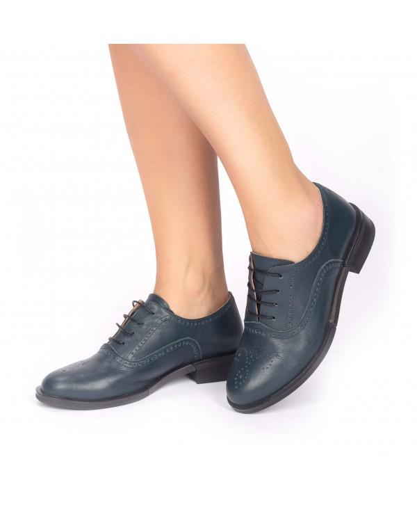 Pantofi oxford verzi 1809
