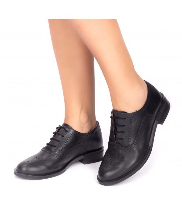 Pantofi oxford negri 1809
