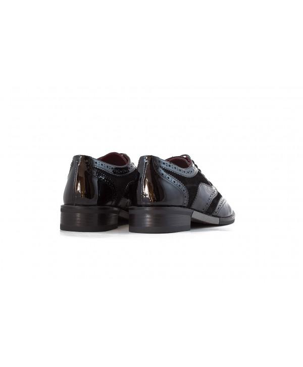 Pantofi oxford negri 1810