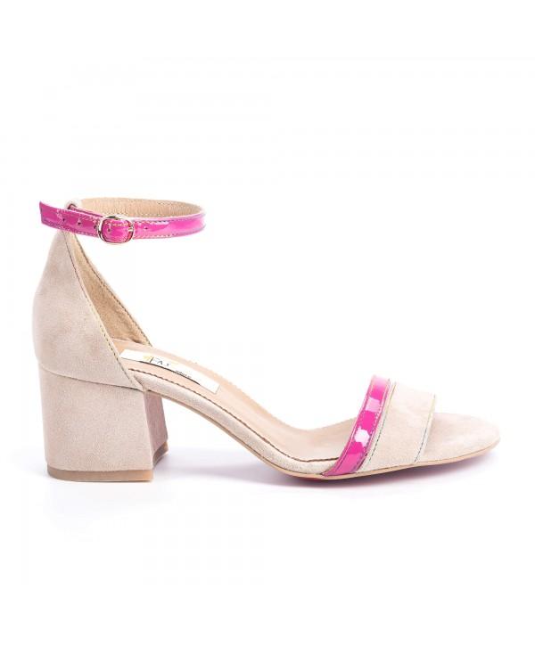 Sandale elegante crem 1812
