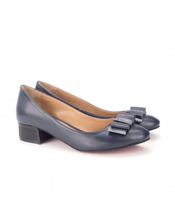 Pantofi eleganti albastri 1813-P