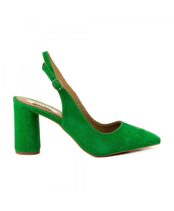 Pantofi tip sandala verzi 1815