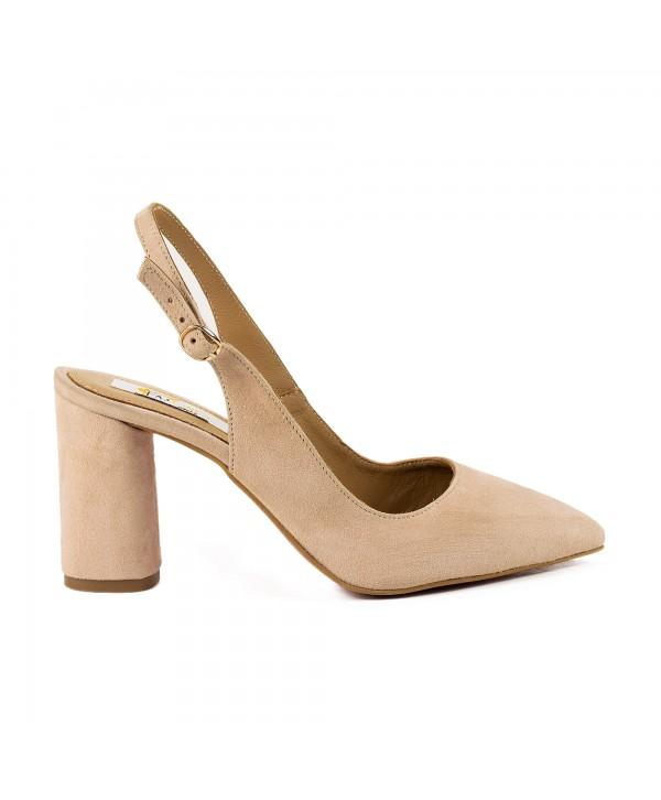 Pantofi tip sandala crem 1815
