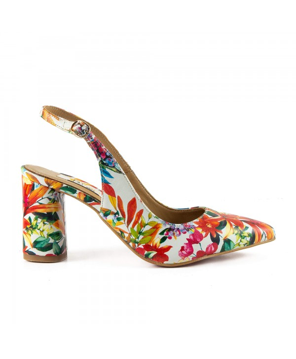 Pantofi tip sandala multicolor 1815