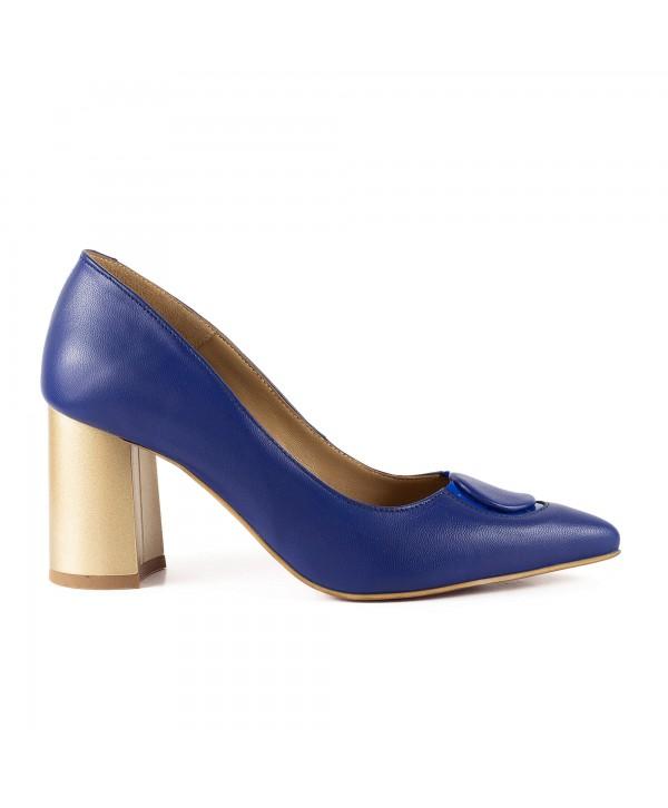 Pantofi eleganti albastri 1904