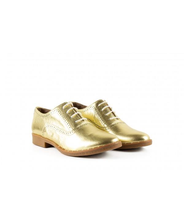 Pantofi oxford aurii 1909