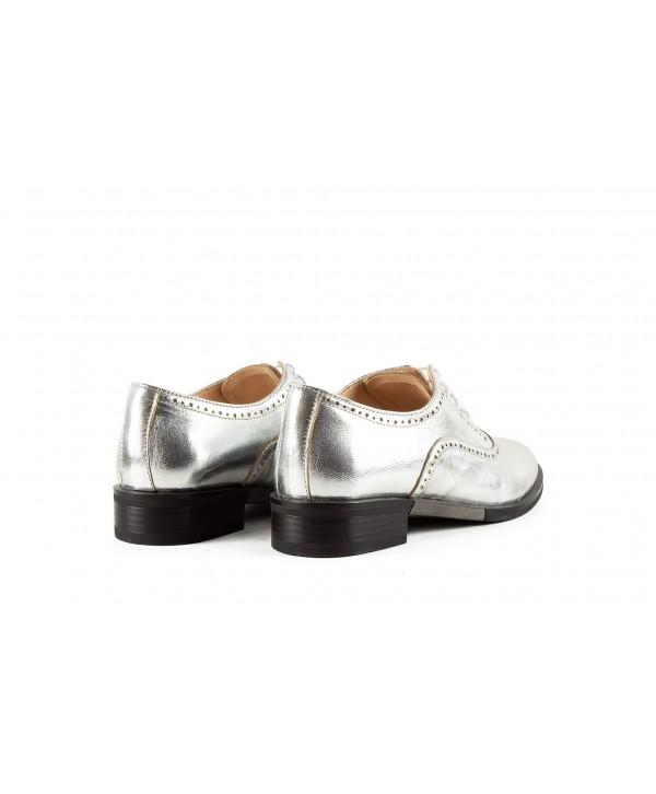 Pantofi oxford argintii 1909