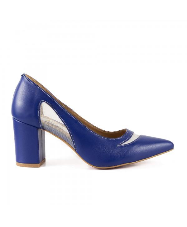Pantofi eleganti albastri 1911