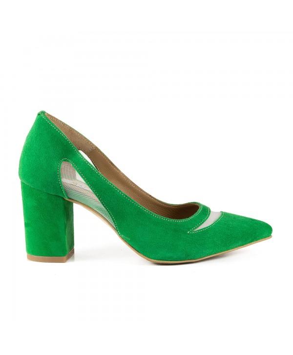 Pantofi eleganti verzi 1911