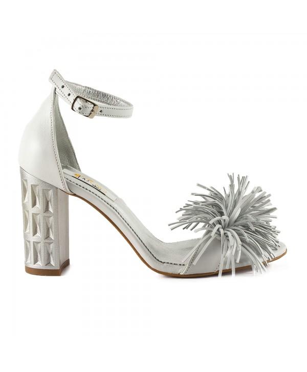 Sandale elegante argintii 1915