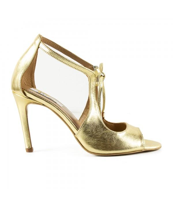 Sandale elegante aurii 1916