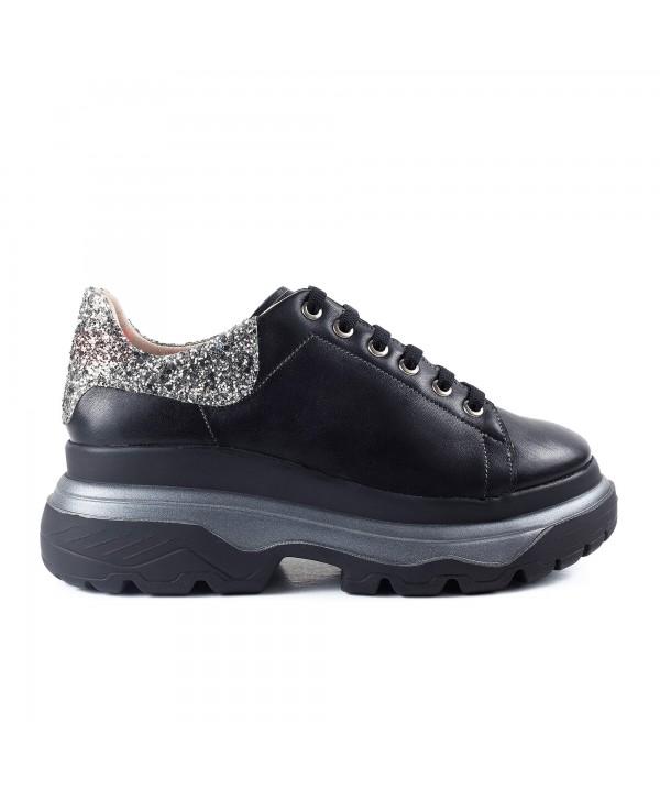 Sneakers negri glitter 1917