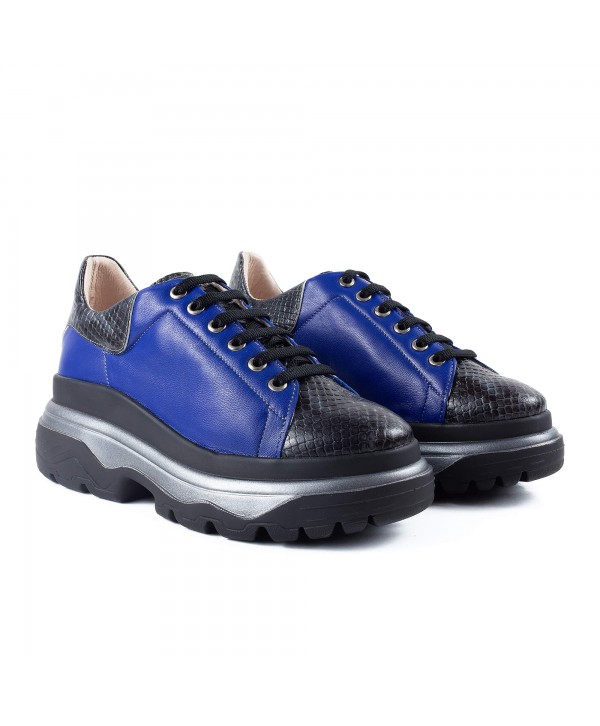 Sneakers albastri sarpe 1917
