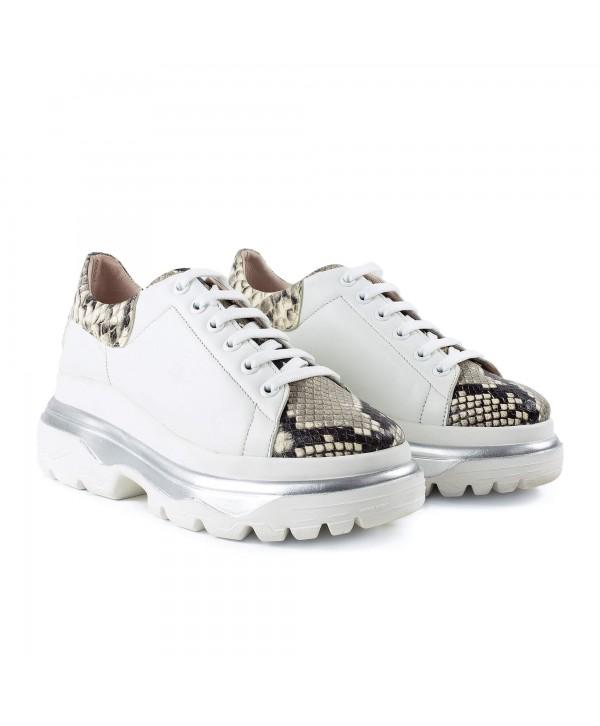 Sneakers albi varf sarpe 1917