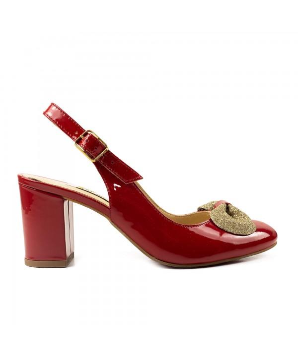 Pantofi decupati rosii 1919