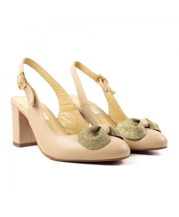 Pantofi decupati nude 1919